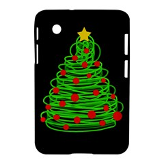 Christmas Tree Samsung Galaxy Tab 2 (7 ) P3100 Hardshell Case  by Valentinaart