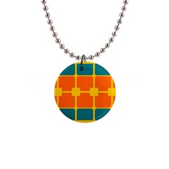 Squares And Rectangles                                                                                                			1  Button Necklace by LalyLauraFLM