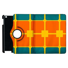 Squares And Rectangles                                                                                               			apple Ipad 2 Flip 360 Case by LalyLauraFLM