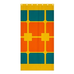 Squares And Rectangles                                                                                               	shower Curtain 36  X 72  by LalyLauraFLM