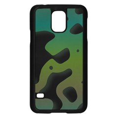 Black Spots On A Gradient Background                                                                                                 			samsung Galaxy S5 Case (black) by LalyLauraFLM