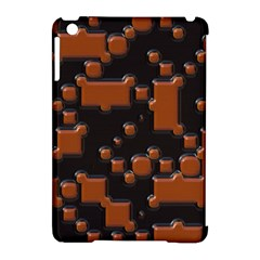Brown Pieces                                                                                                 			apple Ipad Mini Hardshell Case (compatible With Smart Cover) by LalyLauraFLM