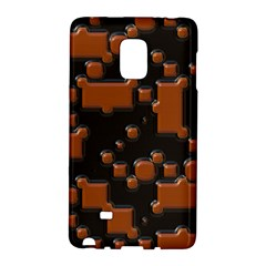 Brown Pieces                                                                                                 			samsung Galaxy Note Edge Hardshell Case by LalyLauraFLM