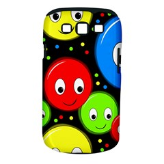 Smiley Faces Pattern Samsung Galaxy S Iii Classic Hardshell Case (pc+silicone) by Valentinaart