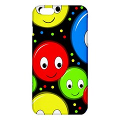 Smiley Faces Pattern Iphone 6 Plus/6s Plus Tpu Case by Valentinaart