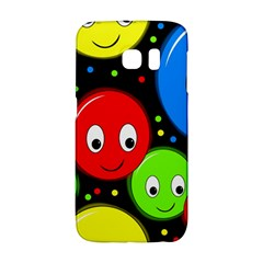 Smiley Faces Pattern Galaxy S6 Edge