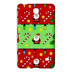 Christmas Pattern   Green And Red Samsung Galaxy Tab 4 (7 ) Hardshell Case  by Valentinaart