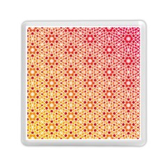 Orange Ombre Mosaic Pattern Memory Card Reader (square)  by TanyaDraws