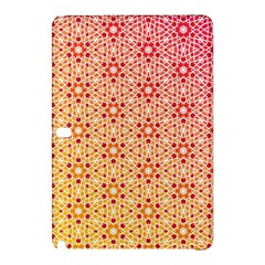 Orange Ombre Mosaic Pattern Samsung Galaxy Tab Pro 10 1 Hardshell Case by TanyaDraws