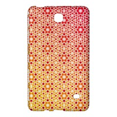 Orange Ombre Mosaic Pattern Samsung Galaxy Tab 4 (7 ) Hardshell Case  by TanyaDraws