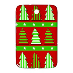 Christmas Trees Pattern Samsung Galaxy Note 8 0 N5100 Hardshell Case  by Valentinaart