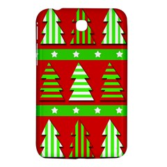 Christmas Trees Pattern Samsung Galaxy Tab 3 (7 ) P3200 Hardshell Case  by Valentinaart