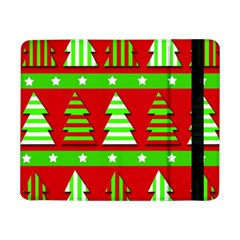 Christmas Trees Pattern Samsung Galaxy Tab Pro 8 4  Flip Case by Valentinaart