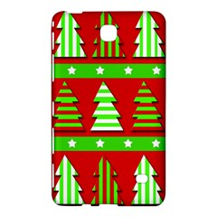 Christmas Trees Pattern Samsung Galaxy Tab 4 (7 ) Hardshell Case  by Valentinaart