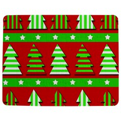 Christmas Trees Pattern Jigsaw Puzzle Photo Stand (rectangular) by Valentinaart