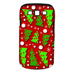 Twisted Christmas Trees Samsung Galaxy S Iii Classic Hardshell Case (pc+silicone) by Valentinaart