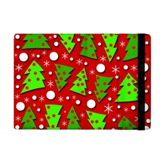 Twisted Christmas Trees Ipad Mini 2 Flip Cases