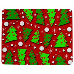 Twisted Christmas Trees Jigsaw Puzzle Photo Stand (rectangular) by Valentinaart