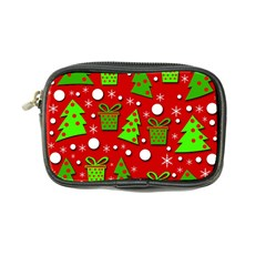 Christmas Trees And Gifts Pattern Coin Purse by Valentinaart