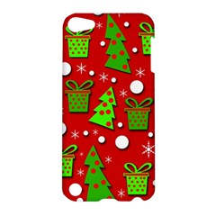 Christmas Trees And Gifts Pattern Apple Ipod Touch 5 Hardshell Case