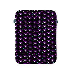 Purple Dots Pattern Apple Ipad 2/3/4 Protective Soft Cases by Valentinaart