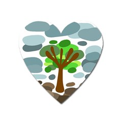 Tree Heart Magnet