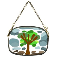 Tree Chain Purses (one Side)  by Valentinaart