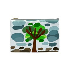 Tree Cosmetic Bag (medium)  by Valentinaart