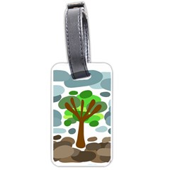 Tree Luggage Tags (two Sides) by Valentinaart
