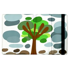 Tree Apple Ipad 3/4 Flip Case by Valentinaart