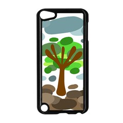 Tree Apple Ipod Touch 5 Case (black) by Valentinaart