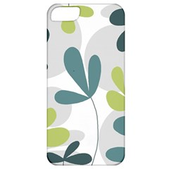 Elegant Floral Design Apple Iphone 5 Classic Hardshell Case by Valentinaart