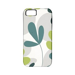 Elegant Floral Design Apple Iphone 5 Classic Hardshell Case (pc+silicone) by Valentinaart