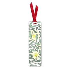 Green Floral Pattern Small Book Marks by Valentinaart