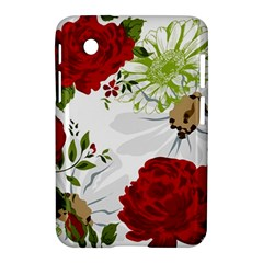 Red Roses Samsung Galaxy Tab 2 (7 ) P3100 Hardshell Case  by fleurs
