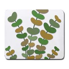 Green Decorative Plant Large Mousepads by Valentinaart