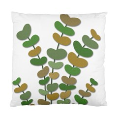 Green Decorative Plant Standard Cushion Case (one Side) by Valentinaart