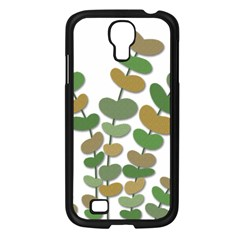 Green Decorative Plant Samsung Galaxy S4 I9500/ I9505 Case (black) by Valentinaart