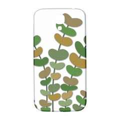 Green Decorative Plant Samsung Galaxy S4 I9500/i9505  Hardshell Back Case by Valentinaart