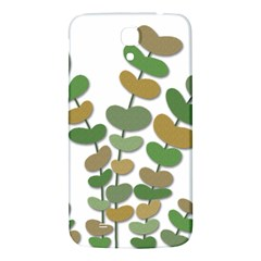 Green Decorative Plant Samsung Galaxy Mega I9200 Hardshell Back Case by Valentinaart