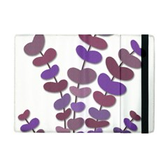 Purple Decorative Plant Apple Ipad Mini Flip Case by Valentinaart