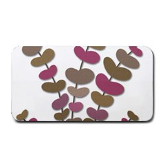 Magenta Decorative Plant Medium Bar Mats by Valentinaart