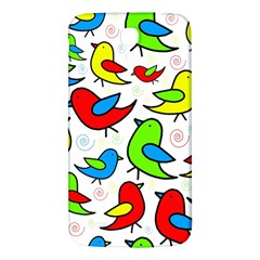 Colorful Cute Birds Pattern Samsung Galaxy Mega I9200 Hardshell Back Case by Valentinaart