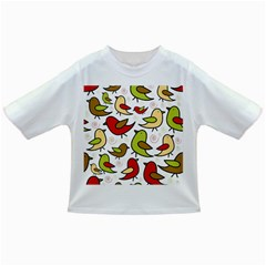 Decorative Birds Pattern Infant/toddler T Shirts by Valentinaart