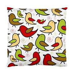 Decorative Birds Pattern Standard Cushion Case (two Sides) by Valentinaart