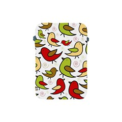 Decorative Birds Pattern Apple Ipad Mini Protective Soft Cases by Valentinaart