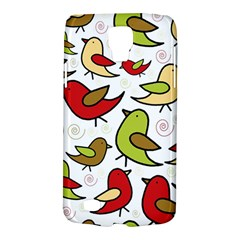 Decorative Birds Pattern Galaxy S4 Active by Valentinaart