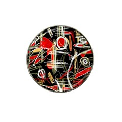 Artistic Abstract Pattern Hat Clip Ball Marker (4 Pack) by Valentinaart