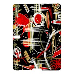 Artistic Abstract Pattern Samsung Galaxy Tab S (10 5 ) Hardshell Case  by Valentinaart