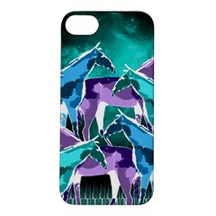 Horses Under A Galaxy Apple Iphone 5s/ Se Hardshell Case